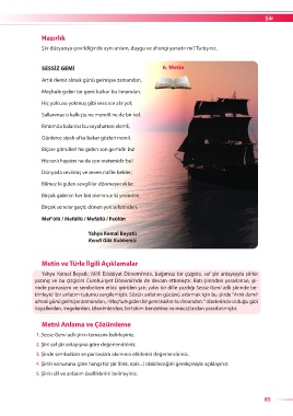 Page 17 Türk Dili Ve Edebiyatı 11 3ünite